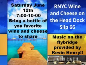 Concert Series Wine and Cheese with Kevin Henry @ River Noire Yacht Club | South Haven | Michigan | United States